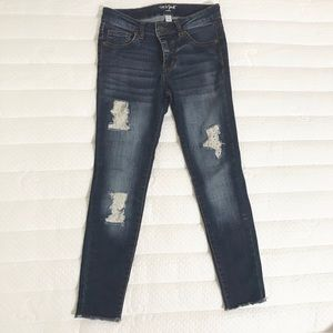 Girls fashion jeans